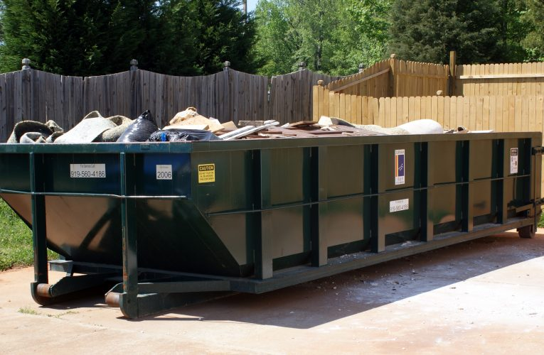 The Crucial Factors Behind Dumpster Rental Rates